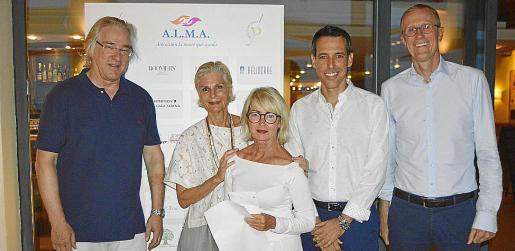 Bernd Jogalla, Michaela Lange, Katja Maier, Israel Rodríguez y Achim Becker.