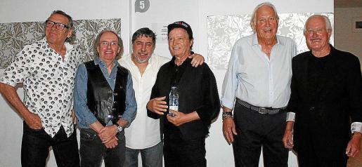 Lorenzo Santamaría, Tolo Alba, Jaime Sureda, Kurt Savoy, Sandro Fantini e Ignasi Forteza-Rey.