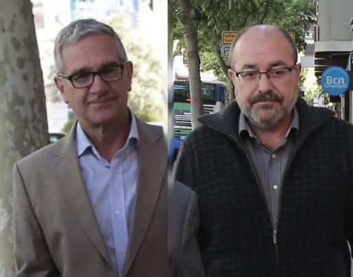 Pablo Vicente Escribá y Xavier Busquets.