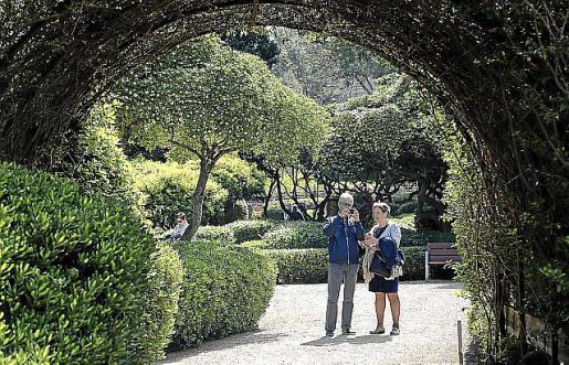 Jardines de Marivent.