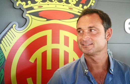 Javier Recio no esconde que el Mallorca debe estar en la zona noble para pelear por el ascenso a Segunda División A.
