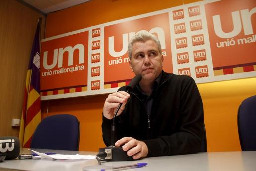 El ex presidente de la extinta UM ha manifestado no estar preocupado por la fianza impuesta a la formación.