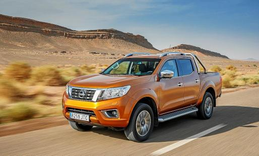 La configuración, uso y prestaciones del Navara pick-up cambia de tipo camión a tipo turismo.