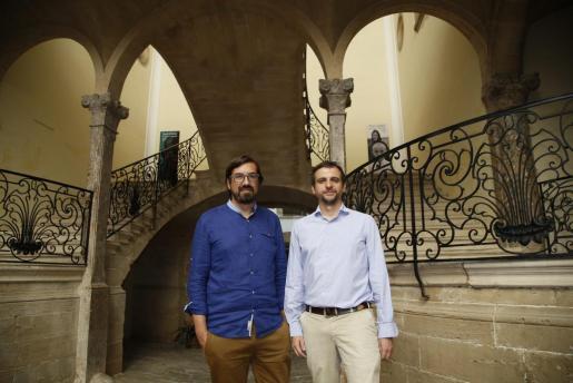 Sebastià Mascaró y Llorenç Carrió han presentado las exposiciones del Solleric.