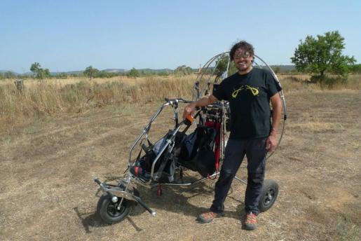Miquel Blanch, el parapentista fallecido este lunes, en una imagen reciente.