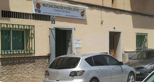La UCO se encuentra en estos momentos en el interior de la delegación balear de la Mutualidad de Futbolistas.