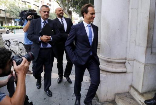 Alvaro Gijón niega que creara un grupo de policías al servicio del Partido Popular.