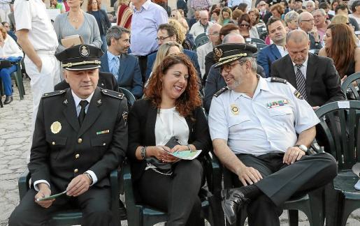 La relación entre Angélica Pastor y Antonio Jarabo, a la derecha, no pasa por su mejor momento.
