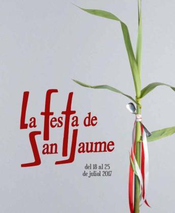 Cartel de las fiestas de Sant Jaume que celebra Manacor.