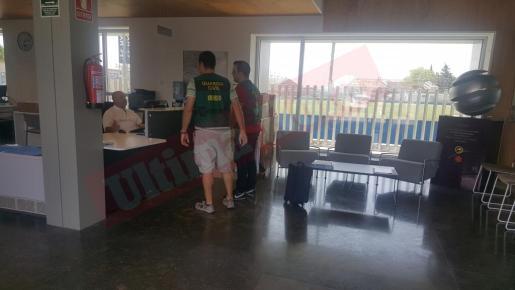 La Guardia Civil se personó este martes en Son Malferit.