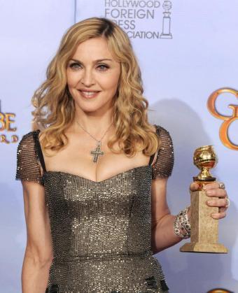 Imagen de Madonna en la ceremonia de los Globos de Oro.