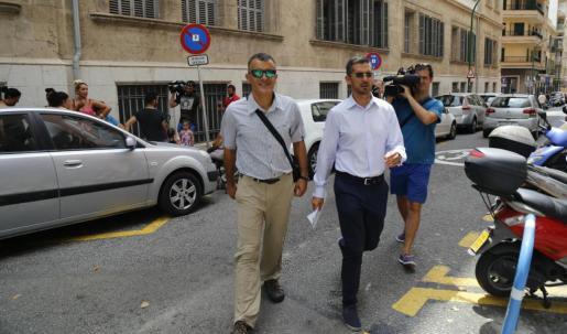 Joan Mut y Antoni Vera han declarado ante el juez por el caso Cursach