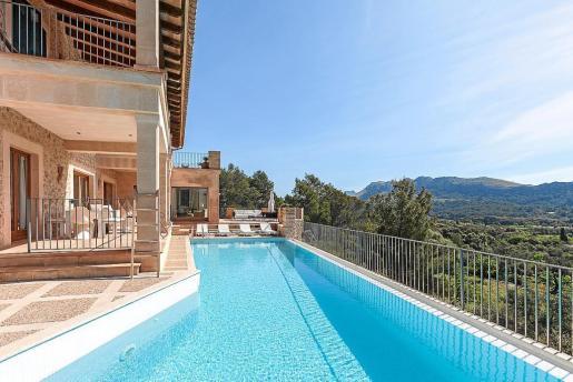 Las casas vacacionales normalmente se dan a conocer a través de las plataformas. En la imagen, una vivienda legallizada que se comercializa a través de la asociación de empresarios de villas turísticas de Balears.