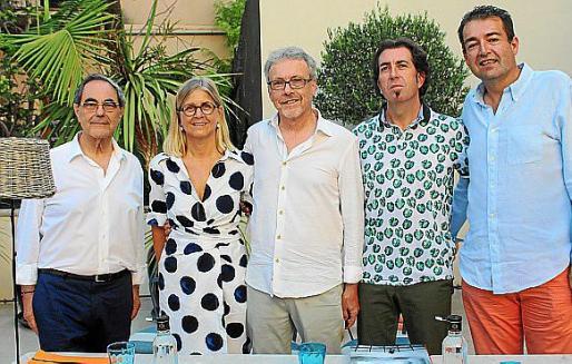 Gabriel Janer Manila, Bárbara Bergman, Luis Maraver, Pere Joan Martorell y Toni Pons.