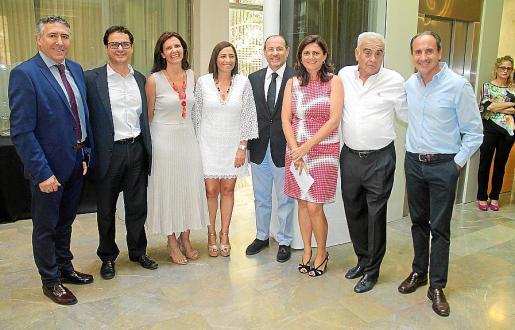 Gabriel Campins, Fernando Talen, Magdalena Clar, María José Ferret, Rafael Gil, Carme López, José Manuel del Campo y Salvador Perera.