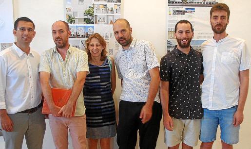 Gabriel Juan Vergés, Jaume Mayol, Irene Pérez, Tomeu Ramis, Tomeu Mateu y Toni Ramis.