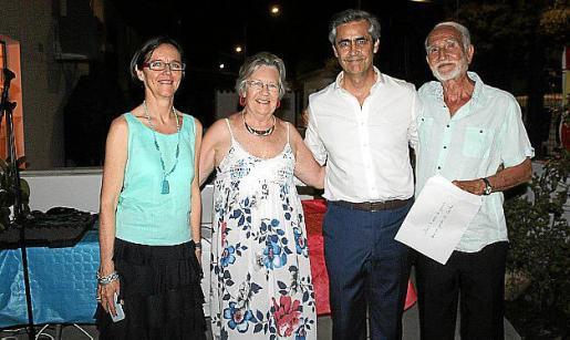 Elisabeth Cornu-Marquis, Christiane Perrot, Michel Magnier y Jacques Maisonneuve.
