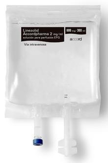 Sanidad retira un lote del antibiótico 'Linezolid Accordpharma'.