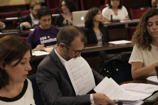 Biel Barceló, conseller de Turismo.