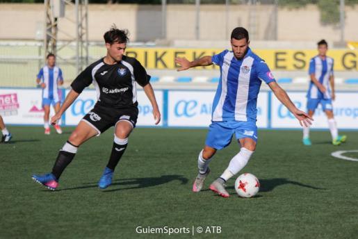 Son Malferit ha vivido este sábado el primer partido de pretemporada del Atlético Baleares.