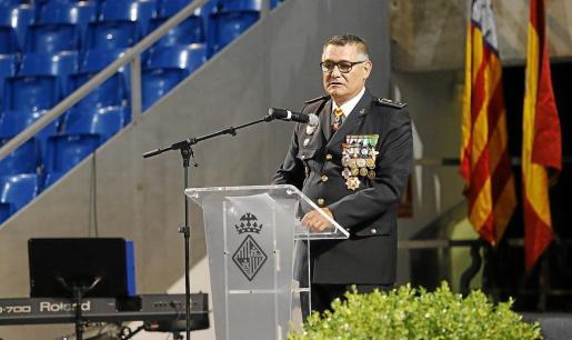 El comisario jefe de la Policía Local de Palma, Josep Palouzié.