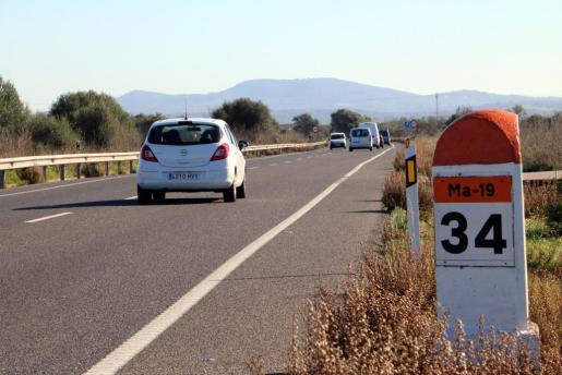 Todos los grupos se ponen de acuerdo en mejorar la seguridad de la carretera que discurre entre Llucmajor y Campos.