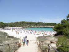 S'Amarador, en la playa del Parc Natural de Mondragó