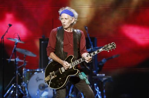 El popular guitarrista de los Rolling Stones, Keith Richards, en una imagen de archivo.