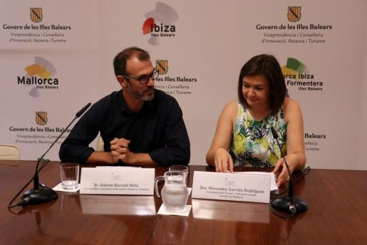 Biel Barceló y Mercedes Garrido han comparecido este martes para ofrecer un avance del PIAT.