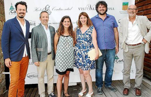 Jaume Salvá, Pere Muñoz, María Ramon, Paula Ginard, Luis Apesteguía y Antoni Martínez.