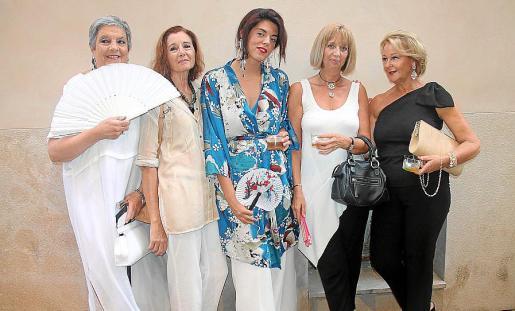 Joana Gual, Pilar Darder, Ela y Lali Fidalgo y Joana Maria Kohna.