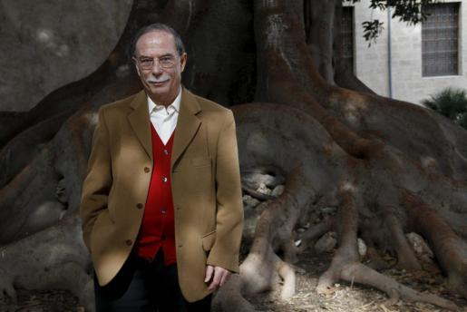 El escritor Antoni Vidal Fernando, en La Misericórdia.