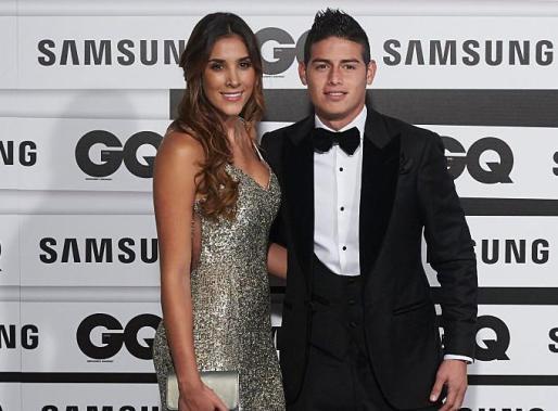 La ya ex-pareja Daniela Ospina y James Rodríguez