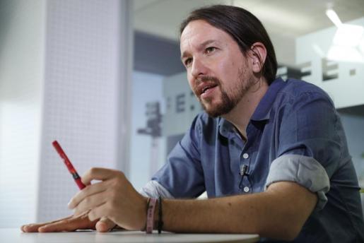 El líder del Podemos, Pablo Iglesias.