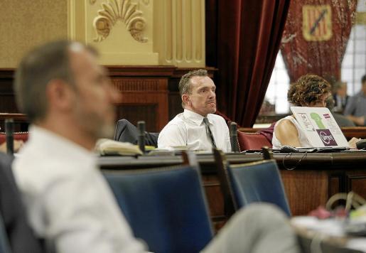 El diputado de Podemos Salvador Aguilera ha llevado el peso de la negociación del proyecto de ley de Biel Barceló.
