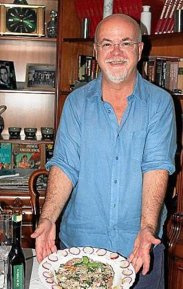Jeroni Rosselló con su Cebiche... Orígenes.