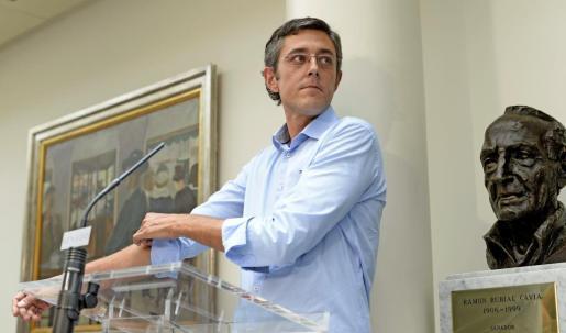 Era un secreto a voces que el diputado vasco abandonaría la primera línea con el regreso de Pedro Sánchez.