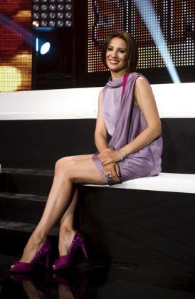 """La popular presentadora Silvia Jato, durante su paso por el programa """"Generación de estrellas""""."""
