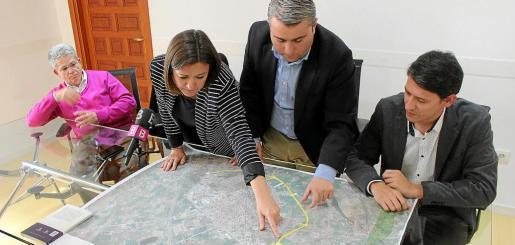 En marzo, la consellera de Territori, Mercedes Garrido, ya anunció que el Consell solo hará media ronda.