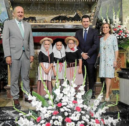 Miquel Ensenyat, Adela Areitio, Pilar Planas, Juana Marqués, Jacobo Planas, Catalina Alzamora y la Beateta 2017.