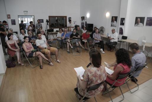 Un momento del 'caucus' celebrado en Palma.