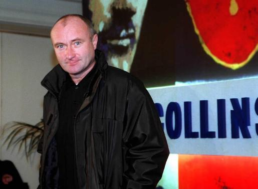 Phil Collins, en una imagen de archivo.