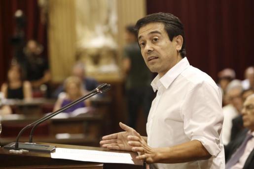 Nel Martí, coordinador general de MÉS per Menorca.