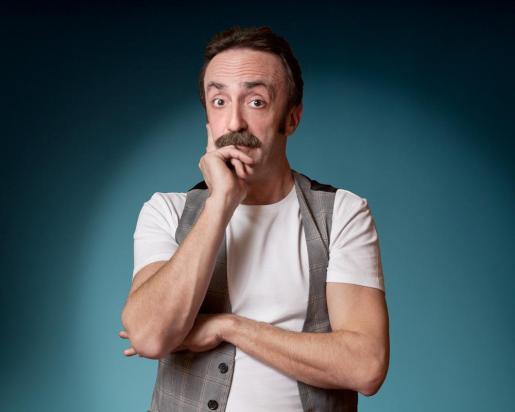 El humorista y actor Santi Rodríguez, en una fotografía promocional.