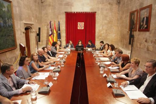 Imagen de la reunión que se ha celebrado este lunes.