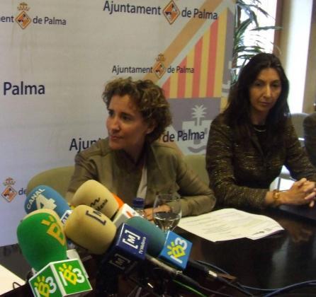 Aina Calvo y Joana Maria Borràs, en una imagen de archivo.