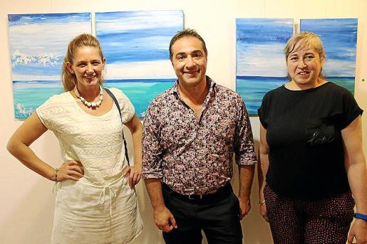 Nadia Paola Piccone, Roberto Alejandro Alonso y María Rosa Aquino.