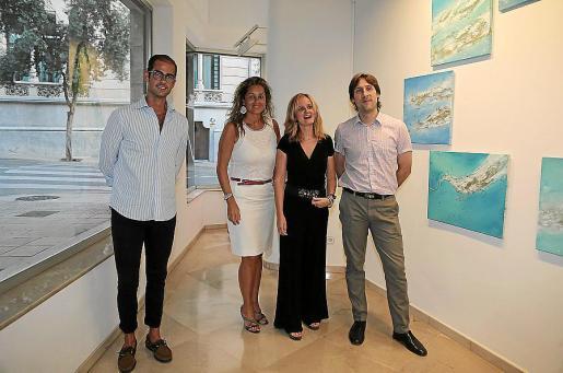 Joan Manel Saenz, Rosa Vanrell, Mercedes Roglá y Fran Amengual.