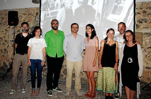 Pere Manel Mulet, Roser Salmoral, Francisco Copado, Llorenç Carrió, Margalida Colom, María Eugenia López-Rodó, Alejandro Ysasi y Patricia Juncosa.