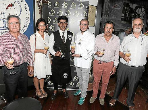Jaume Orell, Immaculada Munar, Alberto Pons, Ricardo Rossi, Pep Oliver y Andreu Oliver. Fotos: Pere Bota